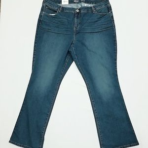 Style&Co. Bootleg Jeans 20W